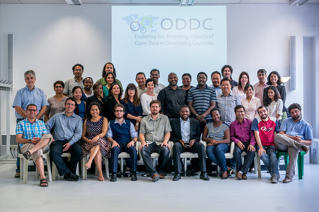 Group Photo - ODDC Research Network Workshop - Berlin