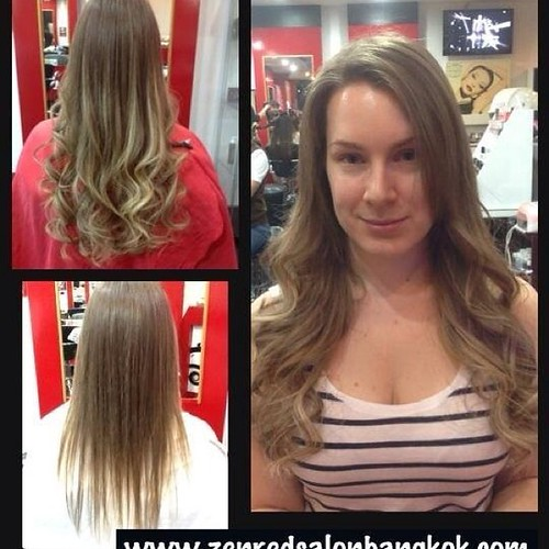 Wonderful Premium Grade Hair Extensions Can Not Only Add Length But Also Volume And Thickness To Any Head Of Zenredsalonbangkok We Specialize In