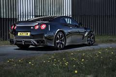 640bhp R35 GTR (Niall97) Tags: black car skyline wales canon eos japanese nissan performance fast automotive l 5d carbon fullframe f28 supercar twinturbo 38 stage4 v6 gtr lichfield markii 640 bhp 2470mm r35 pistonheads bootlid vr38dett