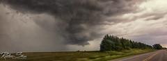 Wall Cloud near Ilderton, Ontario