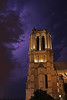 IMG_4609 (Dave Hosford) Tags: sky paris france building church purple cathedral dramatic historic belltower notredame lightening