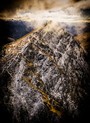 Drama in the Alps (justenoughfocus) Tags: newzealand otago arthurspoint