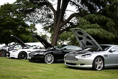 Broken Down? (MJParker1804) Tags: silver martin trio manual coupe aston volante dbs combo v12 db9 touchtronic