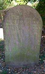Parker headstone