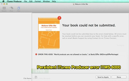 Persistent iTunes Producer error ITMS-60 by Wesley Fryer, on Flickr