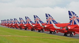 RED ARROWS NOT 9 BUT 11