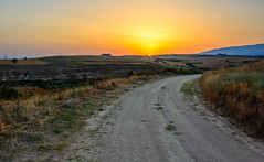 Sunset (Photo_hobbyist) Tags: road sunset countryside nikon horizon greece macedonia timeless serres makedonia d5200 μακεδονια pp6b0b