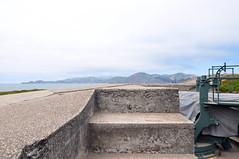 (darapo) Tags: ocean sf california bridge sky beach water lens concrete golden bay nikon gate san francisco baker angle pacific south wide battery parks trails overcast cliffs hills tokina bunker oceanside shore presidio chamberlain d5000 1116mm