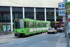Tw 6000 der Üstra Hannover (Vitalis Fotopage) Tags: public transport tram hannover tw 6000 strassenbahn lhb niedersachsen üstra stadtbahn duewag strasenbahn