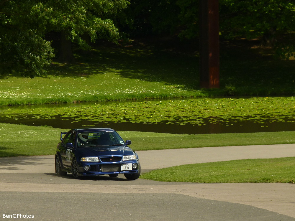 Natural Habitat (BenGPhotos) Tags: Blue 6 Sports Car Race Japanese Crystal  Evolution Palace