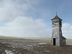 Scobey, Montana (jericl cat) Tags: abandoned farmhouse lost montana mt farm ghost watertower farmland vacant watertank 2014 scobey