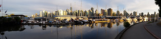 Coal Harbour and Vancouver city panorama