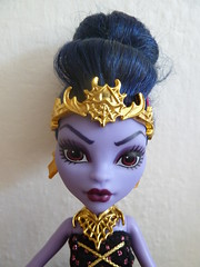 Evil Queen (Danae Danone) Tags: monster jane ooak custom repaint monsterhigh boolittle