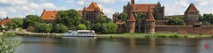 Panorama of Malbork Castle (Reworked) (Mark Kaletka) Tags: panorama castle canon stitch pano poland powershot knights topaz corel malbork teutonic s45 hugin teutonicknights