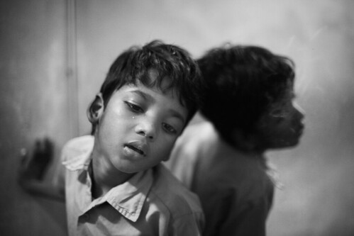 Aaditya Kumar has Hydrocephalus and mental retardation. His younger Brother Shubham suffers from Cerebral Palsy