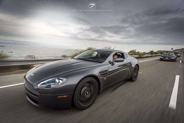 california pch astonmartin db9 ted7 rollingshot evanpaul