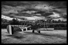 Royal Aircraft Factory B.E.2e - 4 (mod) (NickJ 1972) Tags: park party aviation collection replica airshow shuttleworth laa 2014 oldwarden royalaircraftfactory be2 zktfz a2943