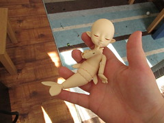 Guess Who Arrived? (BallisticJelly) Tags: new fish girl yellow female ball nude doll ebay dolls singing anniversary tail year ring size tiny shelly bjd mermaid 18 limited less jodi default jointed balljointed gulaman faceup lati ringdoll faceupless jeeryama dollssinging