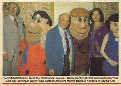 Hanna-Barbera Flintstones Voice Actors, Mel Blanc & Henry Corden (kerrytoonz) Tags: costume flintstones melblanc bettyrubble fredflintstone barneyrubble hannabarbera henrycorden gayautterson