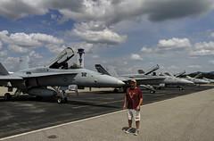 "I'm ""back"".... sorta (konrad_photography) Tags: tower virginia airport jets navy roanoke va fighters f18 usn fa18"