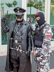 Fursuiting at San Diego Comic Con 2014 (Ialdabaoth42) Tags: public costume furry cobra sandiego cosplay nazi ss joe karl costuming comiccon hellboy officer gi commando sdcc 2014 fursuit kroenen ruprecht sandiegocomiccon comicconinternational fursuiting sandiegofurries