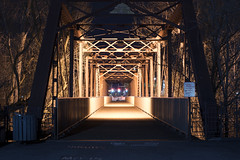 8th Street Bridge (Curtis Gregory Perry) Tags: boise idaho 8th street bridge night longexposure throughtruss steel girder nikon d810 eighth