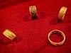 Golf finger rings  recovered from the royal cemetery of Ur, Iraq 2550-2450 BCE (mharrsch) Tags: ring jewelry gold ur sumer mesopotamia iraq ancient burial funerary archaeology 3rdmilleniumbce 25thcenturybce 26thcenturybce pennmuseum philadelphia pennsylvania mharrsch