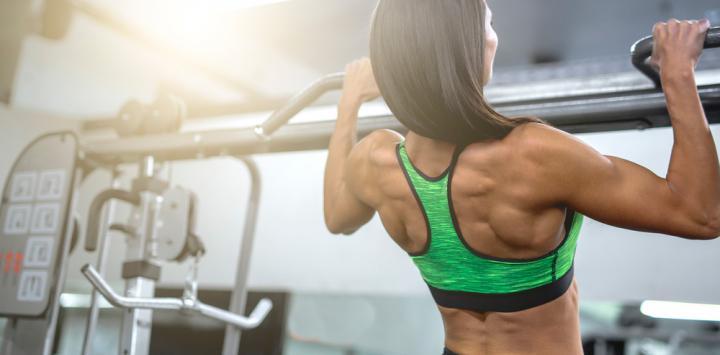 Associated vitamin D with an improvement of muscle mass