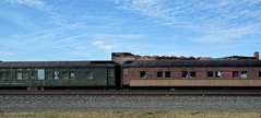Pullman Cars of the Apocalypse (gregador) Tags: northeast pa lakeshorerailwaymuseum apocalypse decayed ruins railroad pullman passengercars