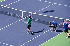 rogerwin (Purple Cow Pictures) Tags: tennis indianwells tournament desert palmsprings swiss switzerland rogerfederer stanwrawrinka martinahingis sport photography fun moetchandon moment