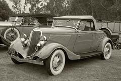 1934 Ford Roadster --- EXPLORED (Pat Durkin OC) Tags: 1934ford roadster tan beige whitewalltires spokewheels stock explored