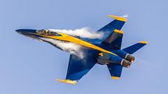 Bringing It Around (4myrrh1) Tags: military fighter f18 navy oceana virginia va virginiabeach aircraft airplane aviation airshow airplanes airport vapor