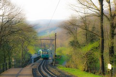past train (simone.pelatti) Tags: train mountain bonn forest vintage siebengebirge sonya6000