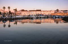 Faro (pietkagab) Tags: faro algarve portugal portuguese oldtown town water waterfront evening longexposure architecture marina europe pietkagab photography pentax piotrgaborek pentaxk5ii travel trip tourism sightseeing outdoors twilight adventure