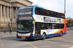 Glenvale 10570 (SN16 OTF) (SelmerOrSelnec) Tags: glenvale stagecoachinmerseyside alexanderdennis enviro400 mmc sn16otf liverpool limestreet bus