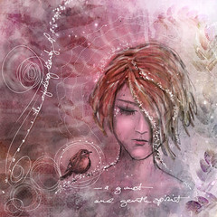 RoxiHardegree_Quiet Spirit_IMG_2230 (coppercurls55) Tags: digitalart repix artjournal ipadedits mobileedits painterly procreate sketch stackables visualfx whimsical