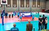 2017-04-08 EK U18 Ned - Slo (18a) (Peter Donderwinkel) Tags: ekmeisjesu18 nederland teamholland slovenië valkenhuizenarnhem papendal volleybal volleyball sportphotography teamsport indoor ek canon nevobo volleybalnl oranje