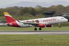 Iberia Express EC-LYE 15-4-2017 (Enda Burke) Tags: eclye iberia iberiaexpress madrid mad avgeek aviation airplane av8 aero aviationviewingpark avp airport arrival airbus apron a320 airbusa320 egcc engine engines england evening runway runwayvisitorpark rvp runwayvistitorpark ringway travel takeoff taxiing taxiway terminal1 terminal3 t3carpark terminal2 planes plane panning pan pilot landing landingear holiday holidays flightdeck flight fly flying departure canon canon7dmk2 cockpit manchesterairport manchester man manc manairport manchesterrunwayvisitorpark manchestercity motionblur
