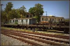 ♪ Βαγόνι ♠ Vagón ♪ (jose luis naussa ( + 2 millones . )) Tags: grecia volos ferrocarril βόλοσ ελλάδα μαγνησία