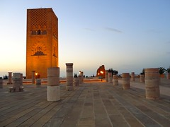 Hassan Tower (Ouissal) Tags: hassan tower rabat morocco sky monument religious building