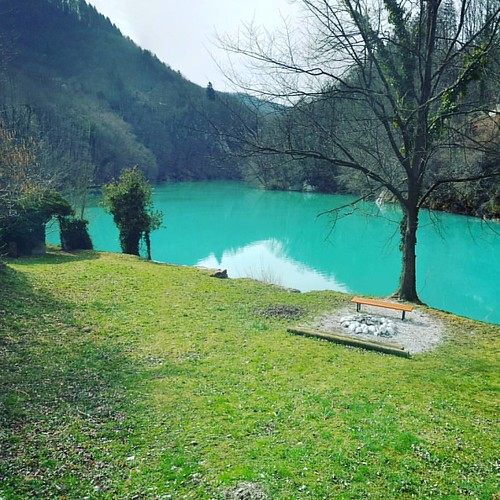 #confluence #soca #isonzo #alpine #river #idrijca #idrijcariver #slovenia #mostnasoci #hotellucija #igslovenia #igposocje #bestoftheday #landscape #turquise #water #lake #spring #2017
