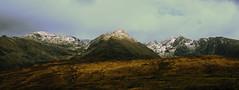 Skye Spring Snow (Dove*) Tags: blackcuillins isleofskye scotland mountains weather waterfall snow landscape scottishlandscape springsnow