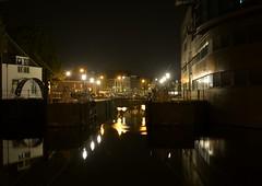 Middelburg by night (Omroep Zeeland) Tags: middelburg binnenhaven getijdenmolen spuikolk nachtopname