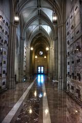 The Great Mausoleum (joe Lach) Tags: greatmausoleum mausoleum glendale california hallway marble tombs crypts joelach