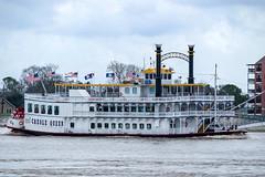 Missishippie steamboat (KPPG) Tags: neworleans louisiana usa steamboat missishippie landscape cityscape 7dwf