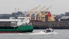Ships of the Mersey - Arklow Fern & Lia (sab89) Tags: river mersey ships arklow fern cargo garston docks belfast green lia survey