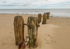 Alnmouth Groynes (keithdaniel51) Tags: alnmouth northumberland coast nikon d7200 groynes