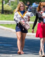 Hilary Duff and a Road of Danger (Red Neptune) Tags: celebrity giantess feet crush sandals flipflops unaware stomp gts shrunkenman shrunkenmen sm
