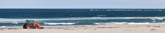 Shoveling Against the Tide (lclower19) Tags: panorama ocean atlantic beach shovel machine vehicle odc busy