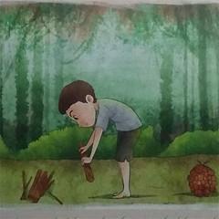Cerita Cerita Dongeng Rakyat Maluku : Penebang Kayu Dan Pohon Bulu (ardi_wonderfull) Tags: cerita dongeng